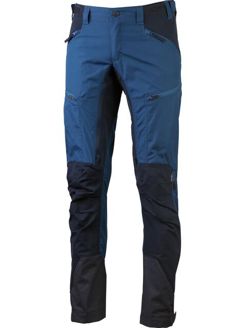 Lundhags Makke - Pantalones de Trekking Hombre - Short azul